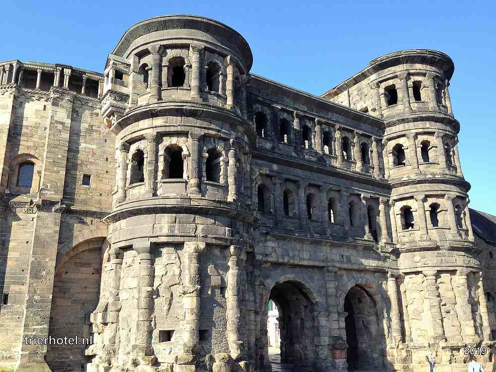 Trier Porta Nigra Romeinse Stadspoort